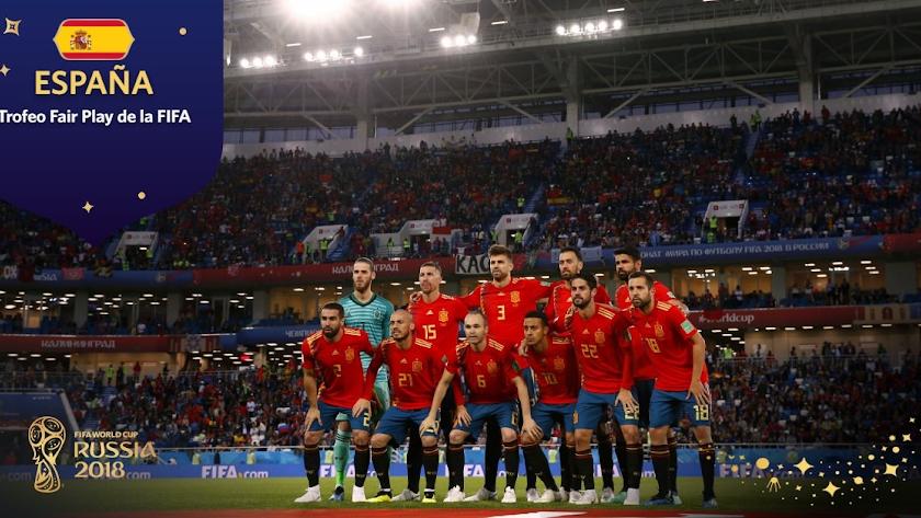 España se lleva el premio al 'Fair Play' del Mundial
