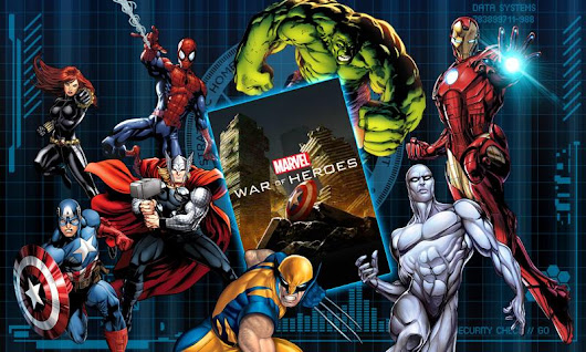 Android Games MARVEL War of Heroes Download