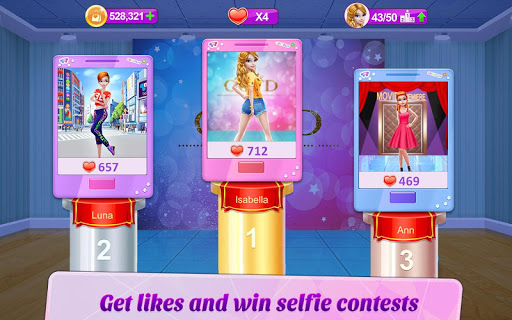 Selfie Queen - Social Star 1.0.3 screenshots 9