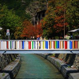 Brig by Cosimo Resti - Buildings & Architecture Bridges & Suspended Structures ( brig, alps, switzerland, bridge, river )