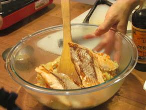 Photo: Salmon Cake Sliders
