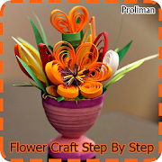 Flower Craft Step By Step icon