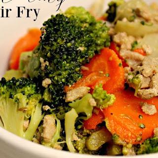 Clean Eating Turkey Stir Fry
