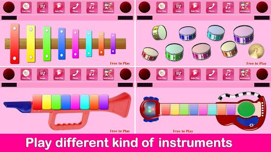 Kids Pink Piano