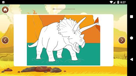 Best Dinosaur Coloring Book APK Screenshot Thumbnail 8