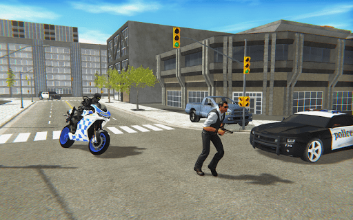 Police Bike Real Crime City Driver 1.0 screenshots 2