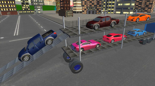 Elevated Car Transporter Game: Cargo truck Driver 1.0 screenshots 2