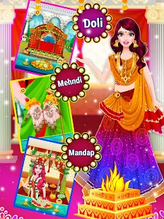 Indian Wedding Dress up & Makeover- screenshot thumbnail