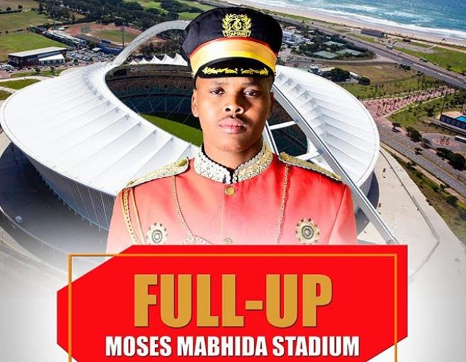 Khuzani Mpungose is confident of selling out Moses Mabhida later this year.