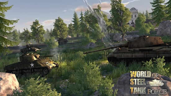 World Of Steel : Tank Force Screenshot