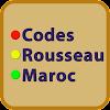 codes rousseau maroc