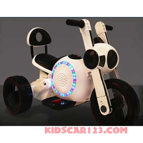 xe máy điện trẻ em KB-903 màu cafe sữa