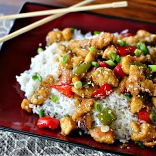 Healthy Sesame Chicken.