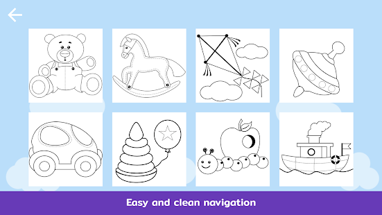 Coloring Book For : Teddy colorbook: coloring book for kids & toddlers android apps