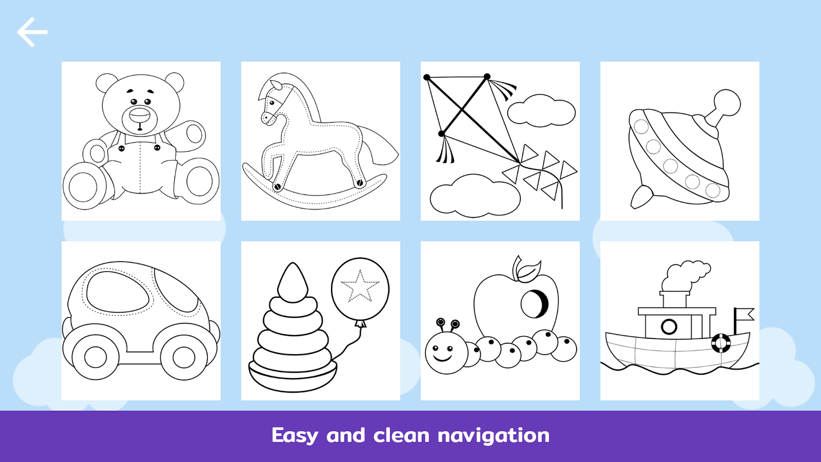 The coloring book clean - Teddy Coloring Book For Kids Screenshot