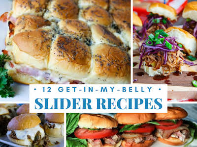 12 Get-In-My-Belly Slider Recipes
