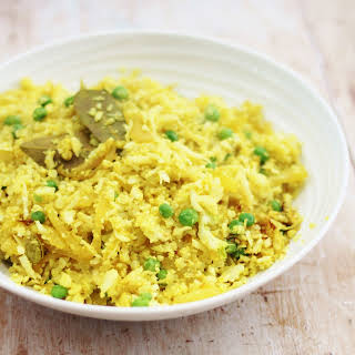 Pilau Cauliflower Rice (Vegan).
