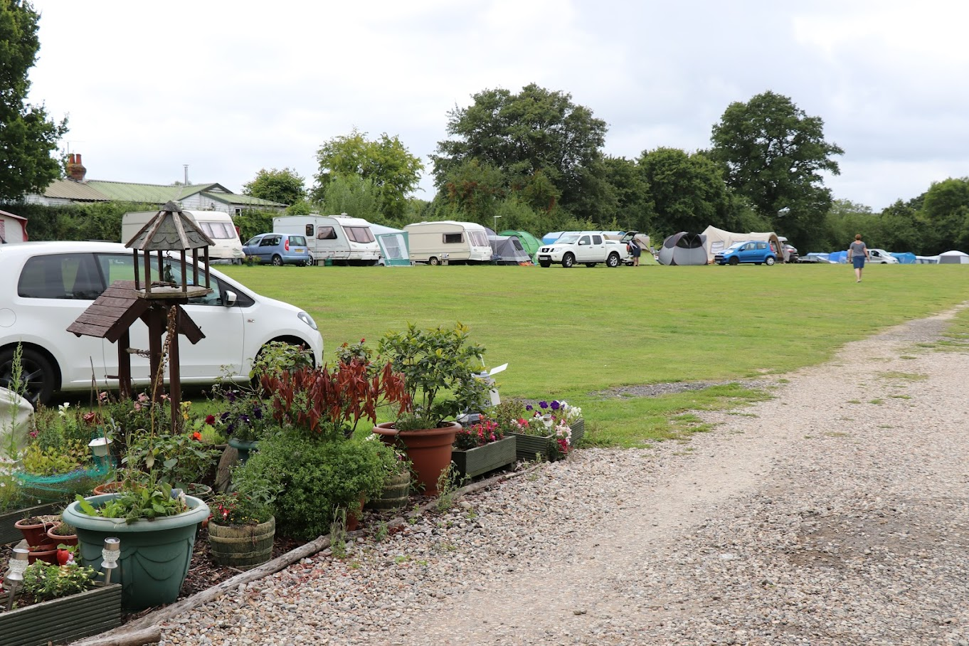 Rother Valley Caravan & Camping Park near Tenterden