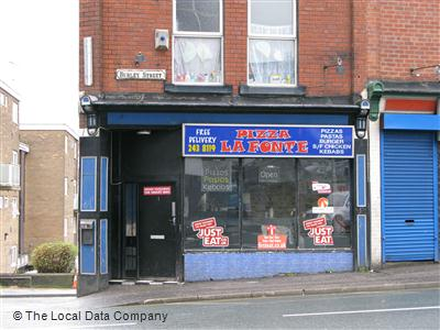 Pizza La Fonte On Burley Street Fast Food Takeaway In