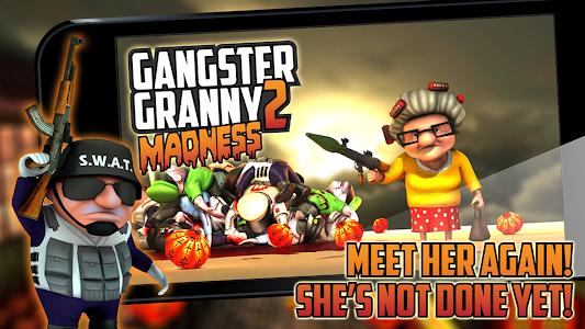 Gangster Granny 2 v1.0 (Mod Money/Ammo)