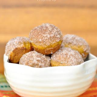 Pumpkin Donut Muffins.