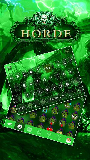 Horde Kika Emoji KeyboardTheme