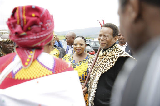 Zulu king calls for more men to get the snip. Picture: TIMESLIVE