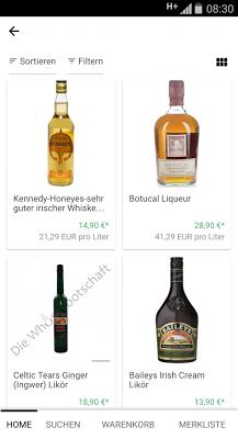 Whisky Shop - screenshot