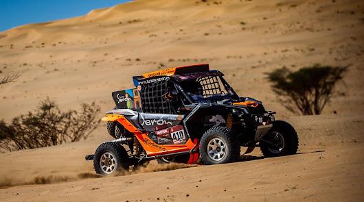 Excelente comienzo de José Antonio Hinojo, tercero en la primera etapa del Dakar