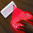 Hologram 3D keyboard simulator