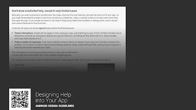 Photo: https://developer.android.com/design/patterns/help.html#your-app