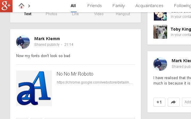 No No Mr Roboto