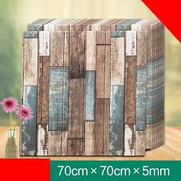 Set 5 x Tapet caramida, autoadeziv, 70 x 70 cm, spuma moale 3D