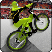 Superheroes BMX Cycle Stunts