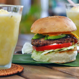 Mexican Hamburgers With Spicy Mayo.