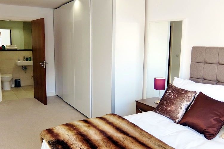 Bedroom at Ruislip Apartments