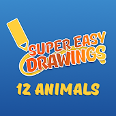 Super Easy Drawings - How to Draw Animals for Kids