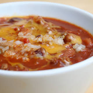 Slow Cooker Chicken Chili.