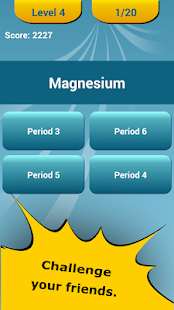 Periodic Table Quiz 6
