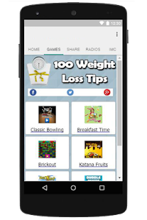 100 Weight Loss Tips App - náhled
