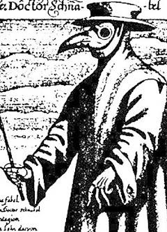 Ein mittelalterlicher Pestarzt