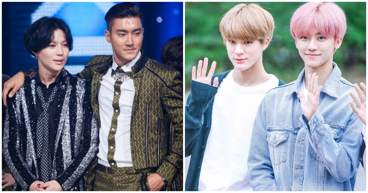 These Are The Legendary Sm Entertainment Idols That The Nct Dream Members Named As Their Ultimate Role Models Koreaboo