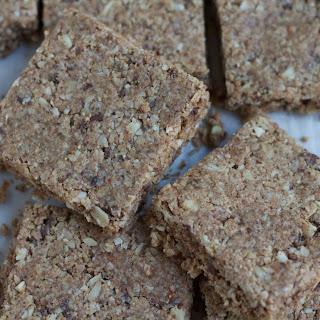 Coconut Almond Flaxseed Granola Bars.