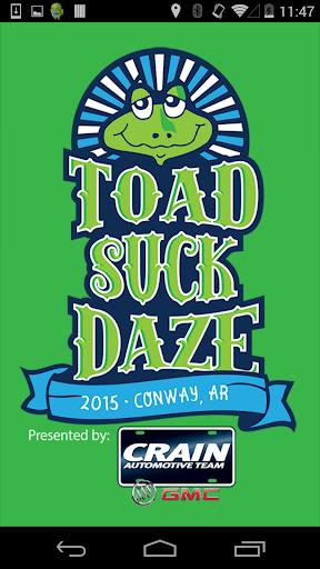 Toad Suck Daze Festival