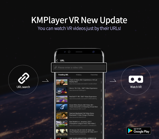 KM Player VR – 360 degree, VR(Virtual Reality) 0.1.12 screenshots n 1