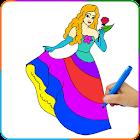 Princess Painting Games icon