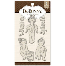 BoBunny Clear Stamps 6X4 - What A Splash UTGÅENDE