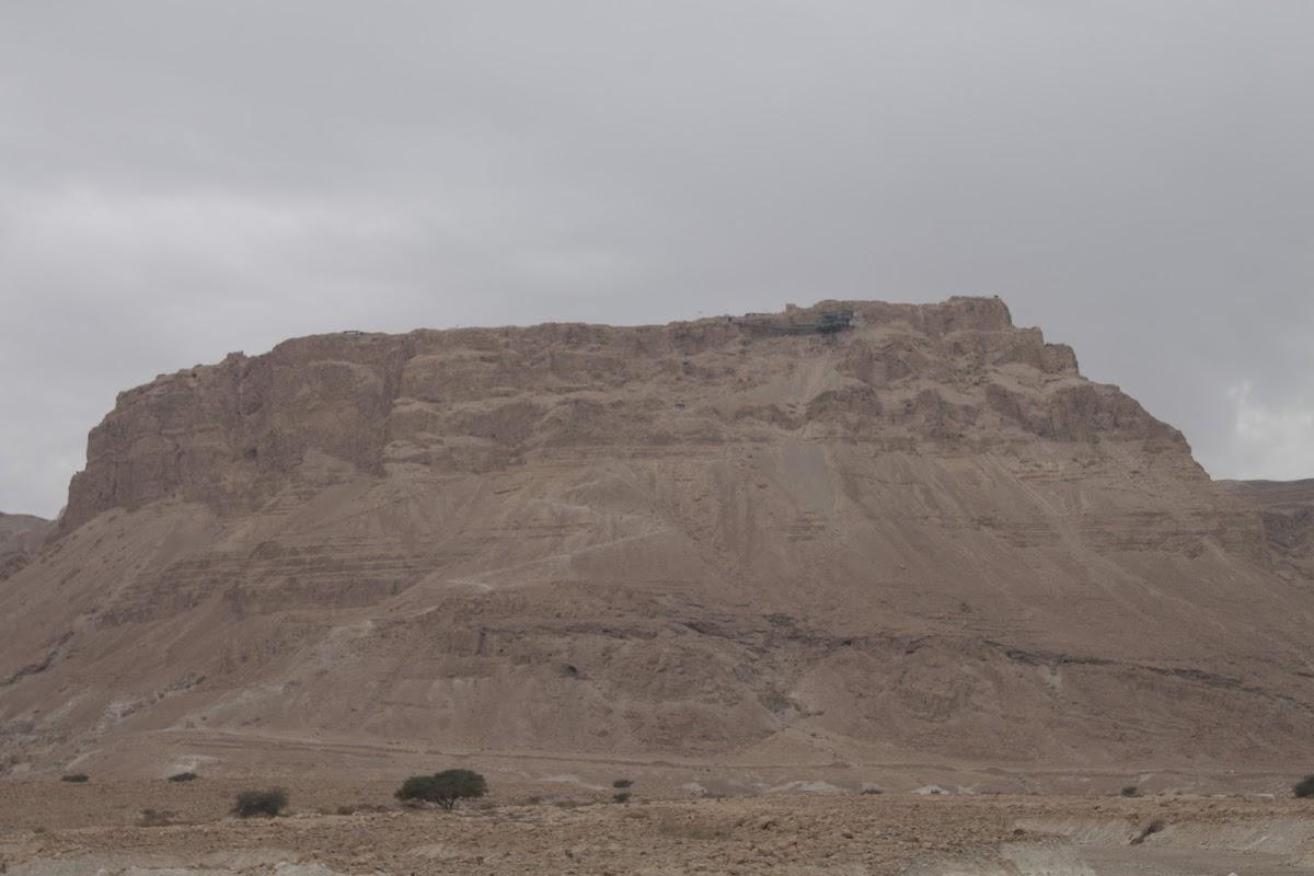 Masada (fortress of Herod in the Judean Desert, near the Salt Sea (Dead Sea)