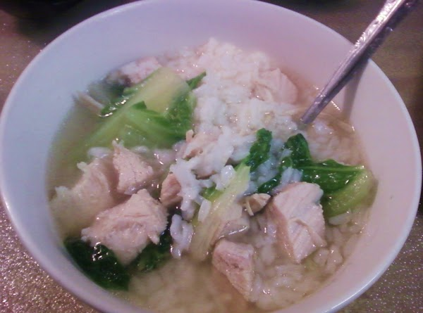 Chicken & Greens Soup Recipe