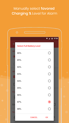 Full Battery Charge Alarm and Theft Security Alert 2.7 screenshots 3